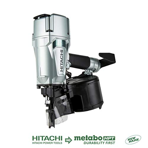 Hitachi NV83A5 Coil Framing Nailer with Rafter Hook, 3-1/4""