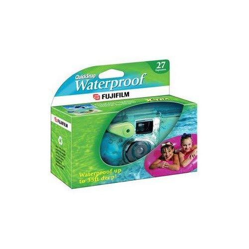 Fujifilm Quick Snap Waterproof 35mm Fuji Disposable / Single Use Underwater Camera (5 Pack)