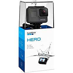 Câmera Hero 2018, GoPro, Preto