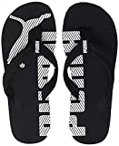 PUMA Epic Flip v2 Unisex Adult Flip Flop, Black (Black/White), 4 UK (37 EU)