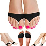 Copper Compression Metatarsal Pads for Women and Men. Guaranteed Highest Copper Foot Pads for Ball of Feet. Gel Ball of Foot Cushions for Mortons Neuroma, Sesamoiditis, Metatarsul Incapsulitus Callus