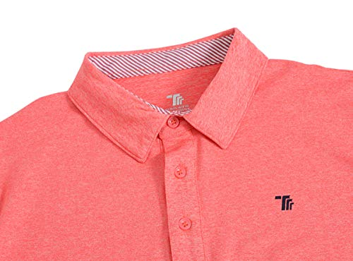 JINSHI Men's Athletic Loose Performance Fit Short Sleeve Classic Golf Polo Shirt 20 Fashion Online Shop gifts for her gifts for him womens full figure