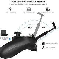 GameSir T1s Kablosuz Bluetooth Joystick Oyun Kolu / Kontrolcüsü Android / PC / PS3 / Smart TV ile Uyumlu 17