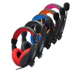 417TDDHJiuL - XuBa Head-mounted Ergonomics Computer Stereo Gaming Headphone with Microphone black