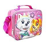 New Nickelodeon Girls' Paw Patrol Pup Power Pink Lunch Bag