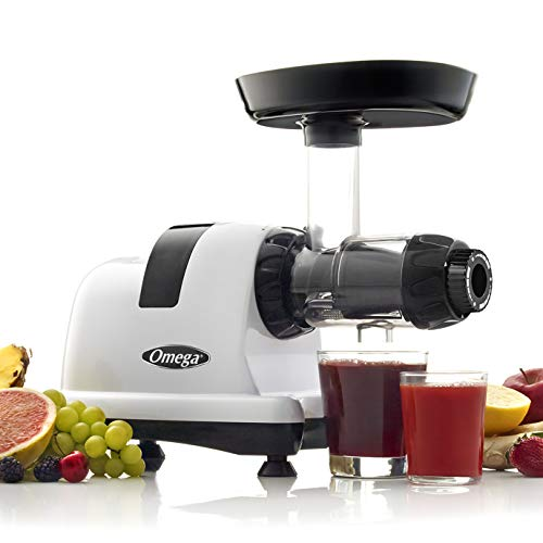 Omega J8006HDS Nutrition Center Quiet Dual-Stage Slow Speed...