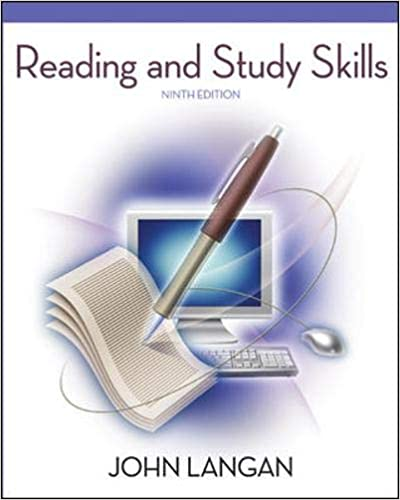 Reading and Study Skills, 9th Edition