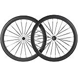 Superteam Bike Wheel Clincher 700C Carbon Wheelset 38/50/60/88 UD Matte (50mm Depth)