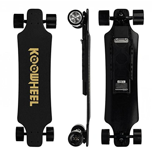 Koowheel D3M 2nd Generation Electric Longboard with Remote - 36 Inch Dual Motor Electric Skateboard Kooboard - 20 Mile Range | 24.8 mph Speed | 25% Incline | 2 X 4300mAh Lithium Battery