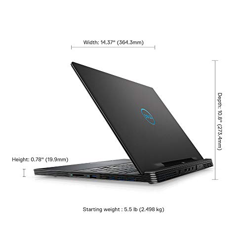 Dell Gaming-G7 7590 15.6-inch FHD Laptop (9th Gen Core i7-9750H/16GB/512GB SSD/Windows 10 + MS Office/8GB NVIDIA 2070 Graphics/Abyss Grey) 6