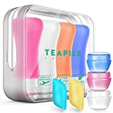 9 Pack Travel Bottles TSA Approved Containers, 3oz Leak Proof Travel Accessories Toiletries,Travel Shampoo And Conditioner Bottles,Perfect for Business or Personal Travel, Fun Outdoors