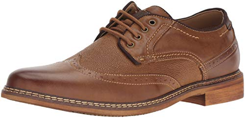 Steve Madden Men's TELECAST Oxford, Dark tan, 13 M US