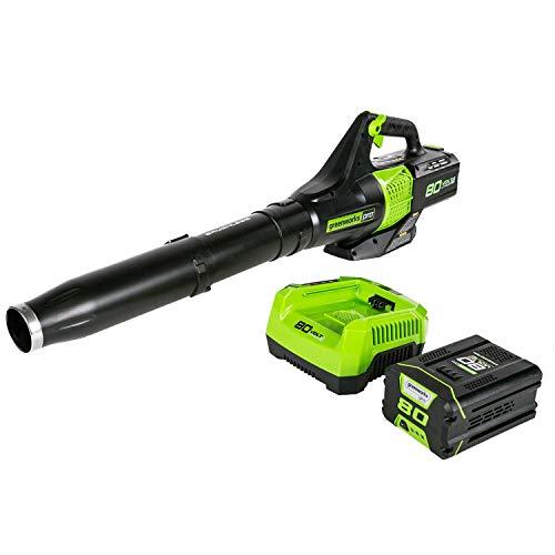 Greenworks BL80L2510 80V Jet Electric Leaf Blower (Renewed)