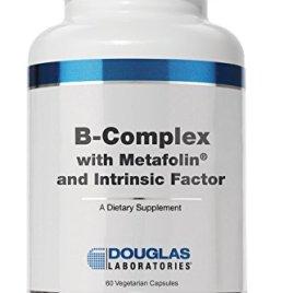 Douglas Laboratories® – B-Complex w/ Metafolin – Supports Blood Cells, Hormones, and Nervous System* – 60 Capsules