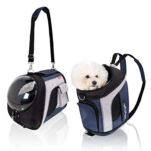ibiyaya Airline Approved Pet Carrier Backpack Soft Sided Tote for Small to Medium Dogs & Cats 1