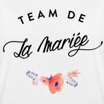 Spreadshirt-EVJF-Team-De-La-Marie-T-Shirt-Oversize-Femme
