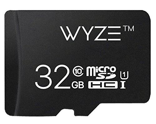 Wyze Labs Expandable Storage 32GB MicroSDHC Card Class 10