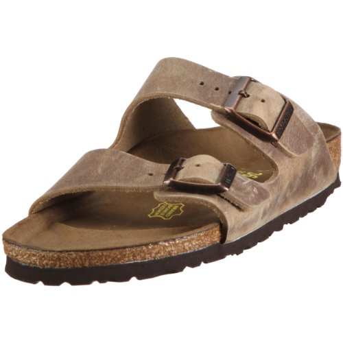 Birkenstock Unisex Arizona Tabacco Brown Sandals - 9-9.5 B(M) US Women/7-7.5 D(M) US Men