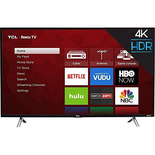 TCL 43S403 43' 4K UHD HDR Roku Smart LED TV (Certified Refurbished)