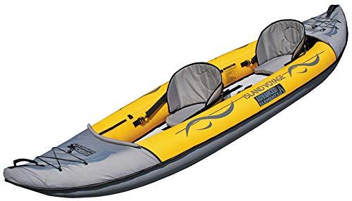 ADVANCED ELEMENTS Island Voyage 2 Inflatable Kayak, Yellow