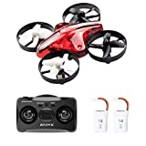 2019 Upgraded Mini Drones for Kids and Beginners Easy to Fly, Quadcopter 2.4Ghz 6-Axis Gyro 4 Channels, Portable Small Flying Drone is Boys and Girls Toys Gift (2 Batteries)