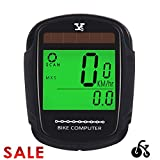 JGRZF Bike Computer Bicycle Wireless Speedometer and Odometer Waterproof Backlight with Digital LCD Display for Outdoor Cycling and Fitness Multi Function Gifts for Bikers/Men/Women/Teens