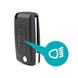 Coque-CLE-pour-telecommande-CITROEN-C2-C3-C5-C6-C4-Picasso-pliable-3-boutons