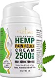 Hemp Cream Pain Relief by New Age - Natural Hemp Extract Cream for Arthritis, Back Pain Muscle Pain Relief - Efficient Inflammation Cream & Carpal Tunnel Relief - Made in USA - Good for Skin Health