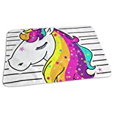 Changing Pad Time To Be Unicorn Baby Diaper Urine Pad Mat Unique Boys Mattress Cover Sheet For Any Places For Home Travel Bed Play Stroller Crib Car