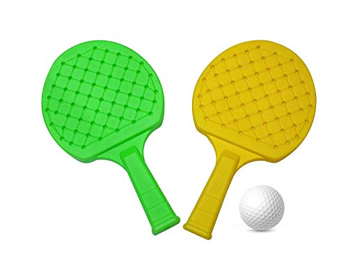 418Qs%2BgI69L - FULLY Kids Indoor Outdoor Play Hand Eye Coordination Table Tennis Racket Return Gift for Kids, 50 Grams, Pack of 1