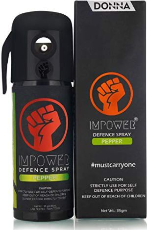 IMPOWER Self Defence Pepper Spray for Woman Safety | 55 ML