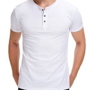 Boisouey Men's Casual Slim Fit Short Sleeve Henley T-Shirts Cotton Shirts 3 Fashion Online Shop 🆓 Gifts for her Gifts for him womens full figure