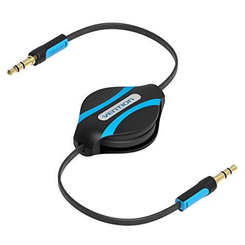 Vention 3.5mm Jack Male To Male Flexible Retractable Stereo Aux Audio Cable Cord,Tuscom