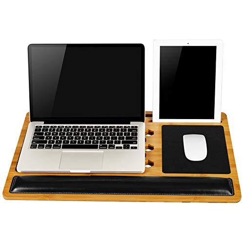 LapGear Bamboard Pro Lap Desk (Fits Most 17.3' Laptops) - Style #77101