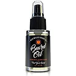 Wild Willies Beard Oil for Men. Made with 10 Natural Conditioner Ingredients & Organic Essential Oils. Promotes Fast Growth, Restores Moisture & Delivers a Deep Softener Treatment. 2oz Bottle  Image 3