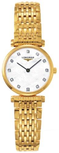 418iDWLweeL Analog Display Strap Round Gold Steel Bracelet & Case