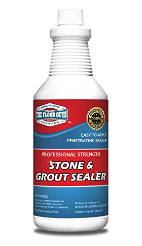 Grout & Granite Penetrating Sealer from the Floor Guys: Also Works on Marble, Travertine, Limestone, Slate. Protects Against Water & Oil Based Stains. Designed for Floors & Showers. 1 Quart