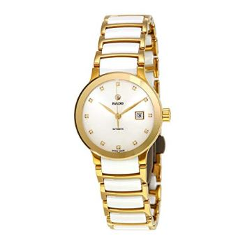 Rado Centrix Automatic White Diamond Dial Ladies Watch R30080752