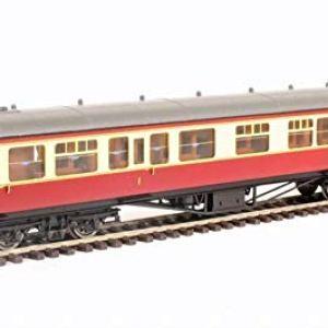 Hornby R4407B BR Hawksworth Corridor Composite Class Coach 'W7803W, Multi 418rbiHoVYL