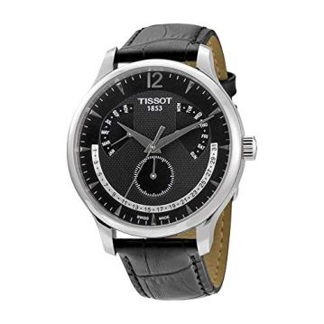 Tissot Men's T063.637.16.057.00 Black Dial Watch
