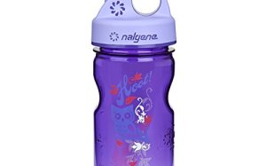 Nalgene Grip-N-Gulp Water Bottle (Purple, 12-Ounce)