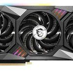 MSI Gaming GeForce RTX 3070 8GB GDRR6 256-Bit HDMI/DP Tri-Frozr 2 TORX Fan 4.0 Ampere Architecture RGB OC Graphics Card…