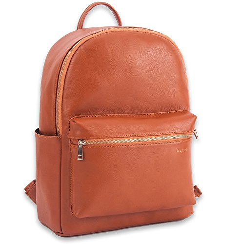 Kaydee Baby Unisex Faux Leather Tote Backpack Bag Diaper Changing Pad - for Men and Women