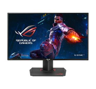 ASUS ROG Swift PG279QZ 27' WQHD 1440P IPS 165Hz DP HDMI Ergonomic Eye Care G-Sync Gaming Monitor