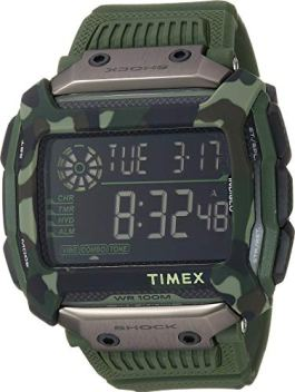Timex Men's Command Digital Green 1 One Size