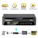 Digital Converter Box for Analog TV, Leelbox Q03S ATSC Converter Box HD 1080P with Record, Pause Live TV, USB Multimedia Playback, and HDTV Set Top Box [2019 Update Version]