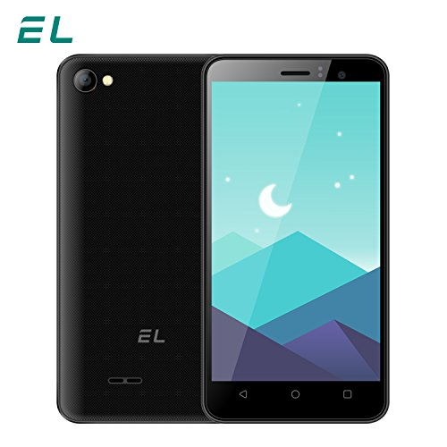 EL W45 Unlocked Cell Phone 4.5 Inch Android Smartphone 3G HD IPS Display Unlocked Mobile Cellphone (Black)