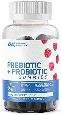 Optimum Nutrition Prebiotic & Probiotic Gummies, Vitamin C and Zinc for Immune Support and Supports Digestive Health for Men & Women, 30 Servings, 60 Count 1