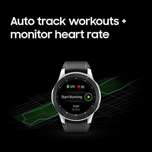 Samsung Galaxy Watch smartwatch (46mm, GPS, Bluetooth) – Silver/Black (US Version with Warranty) 11