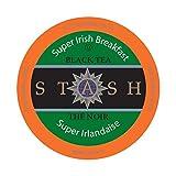 Stash Tea Super Irish Breakfast Single-Cup Tea for Keurig K-Cup Brewers, 40 Count
